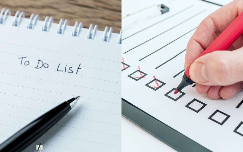 Comment utiliser les check-list et les to-do list